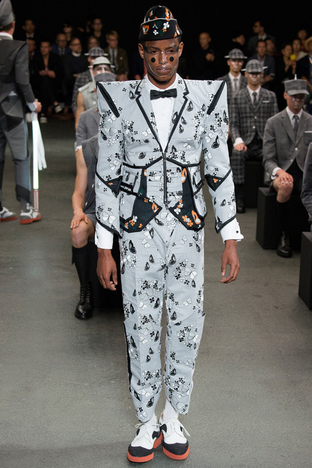 images/cast/20151000020000009=Man SS 2015 COLOUR'S COMPANY fabrics x=Thom Browne